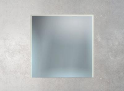 Spiegel mit Sandstrahlung