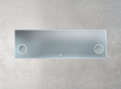 Hintergrundbeleuchtung rechts und links