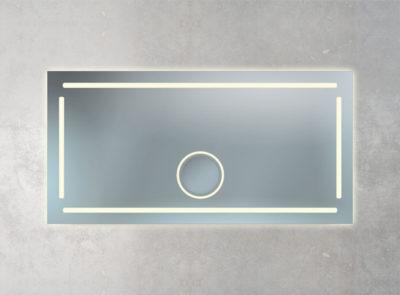 beleuchteter Vergrößerungsspiegel