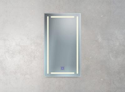 berührungsloser Sensor im Spiegel