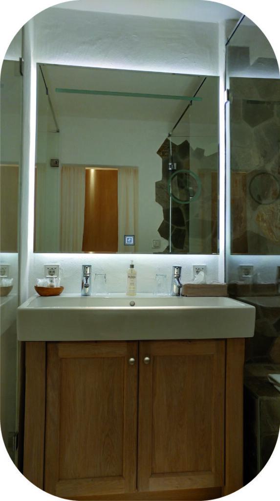 Badspiegel Bleiche