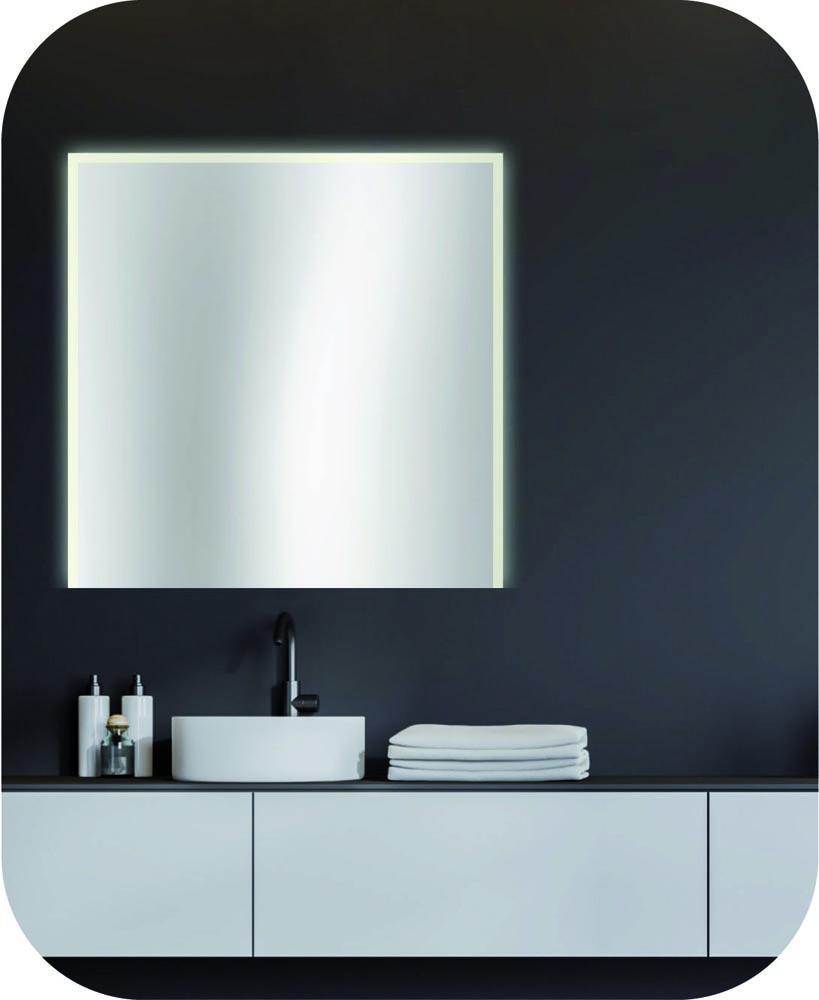 schlichter Badspiegel