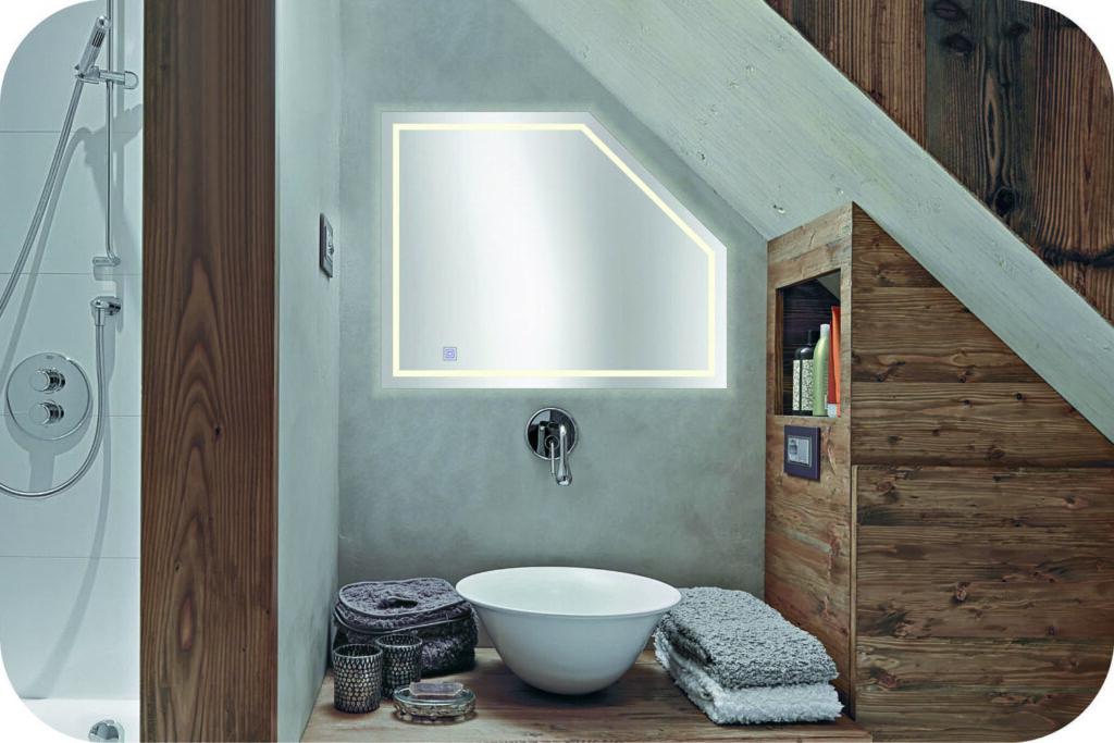 Dachgeschossspiegel