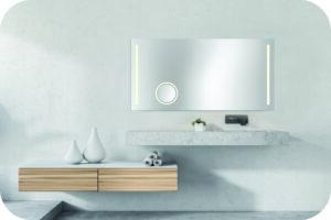 Badspiegel inkl. Kosmetikspiegel