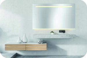 großer LED Spiegel