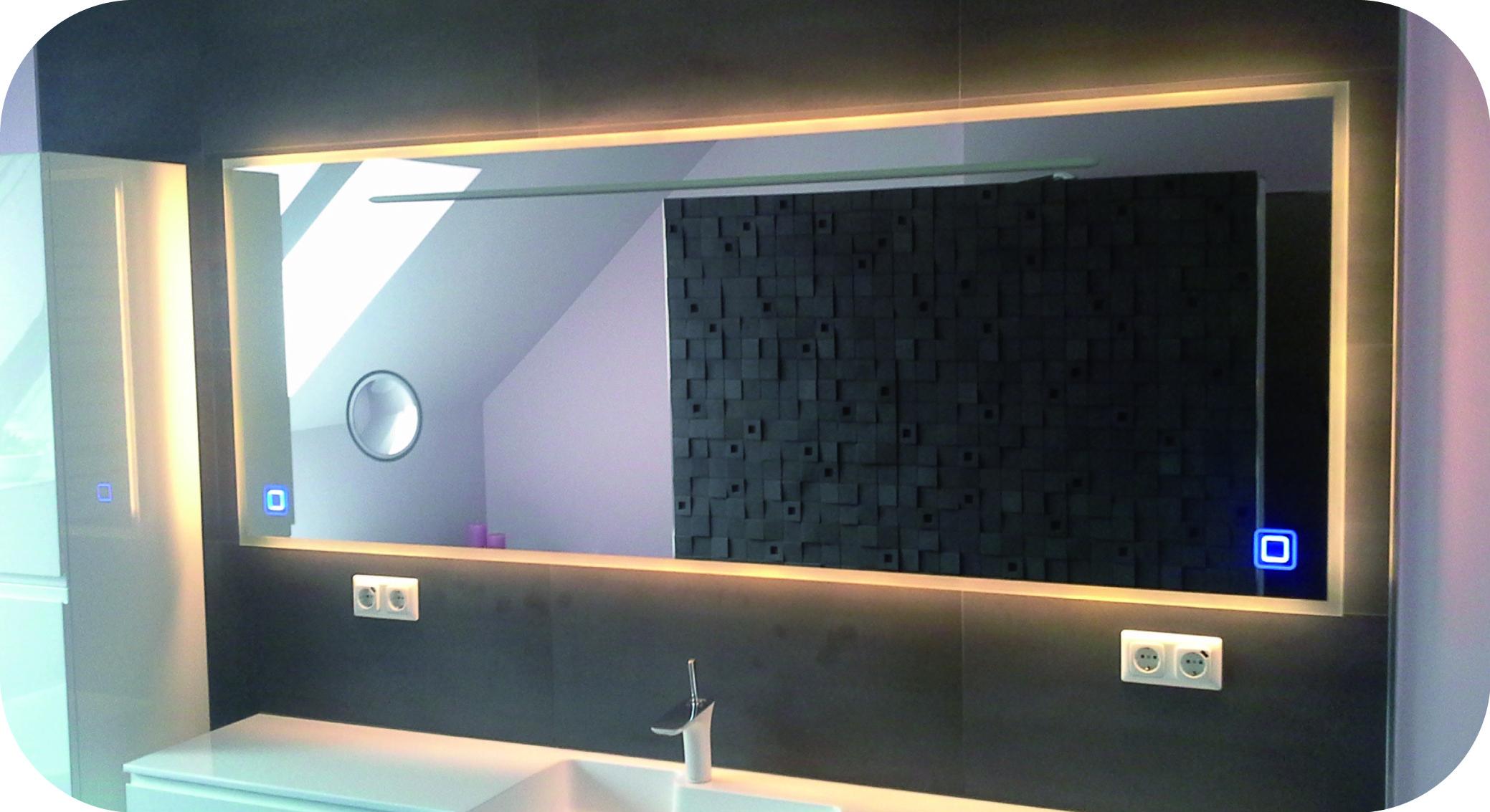 XXL Badezimmerspiegel