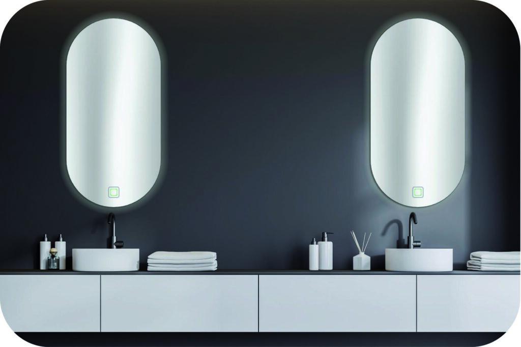Badspiegel für breiten Waschtisch