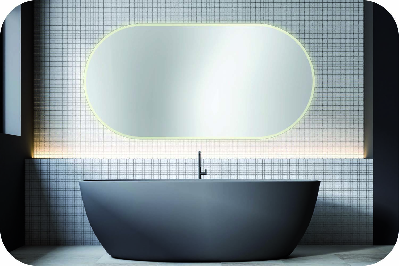 Rundbogenspiegel Bad